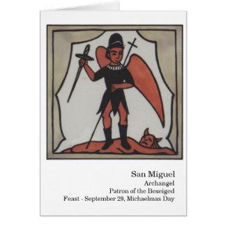Cartão de San Miguel Santo