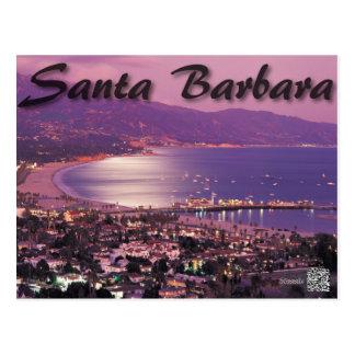 Cartão de Santa Barbara Califórnia