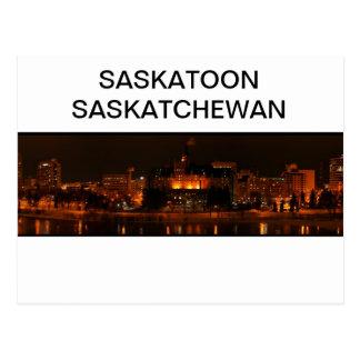 Cartão de Saskatoon Saskatchewan