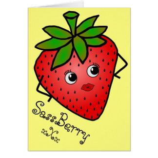 Cartão de SassBerry