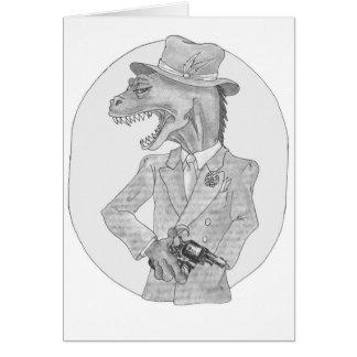 Cartão de Sauvosaurus