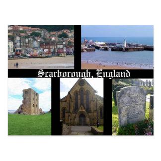 Cartão de Scarborough Inglaterra