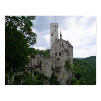 Cartão de Schloss Lichtenstein