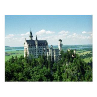 Cartão de Schloss Neuschwanstein