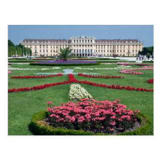 Cartão de Schloss Schoenbrunn