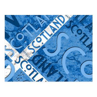 Cartão de Scotland