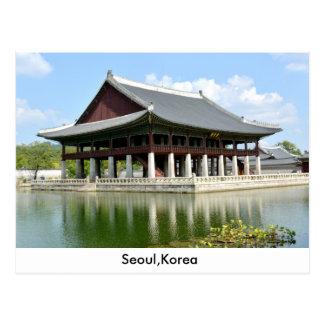 cartão de seoul Coreia