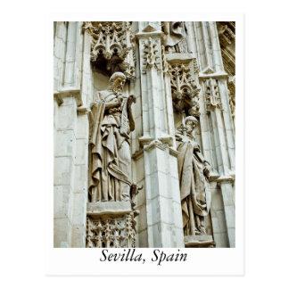 Cartão de Sevilha, espanha