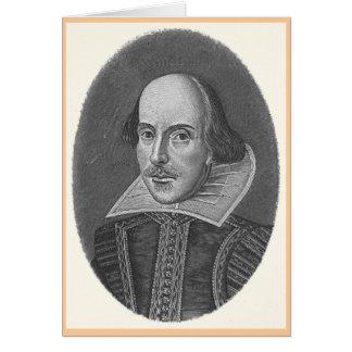 Cartão de Shakespeare
