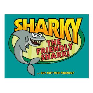 Cartão de Sharky
