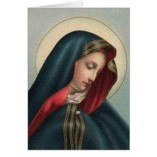 Cartão de simpatia 0020 católico w/verse