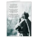 cartão de simpatia da oração do anjo