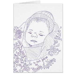 Cartão de simpatia da perda da gravidez