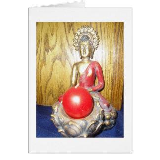 Cartão de simpatia de Buddha