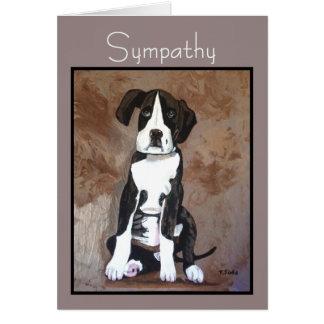 Cartão de SIMPATIA do animal de estimação para