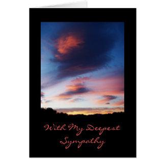 Cartão de simpatia do nascer do sol