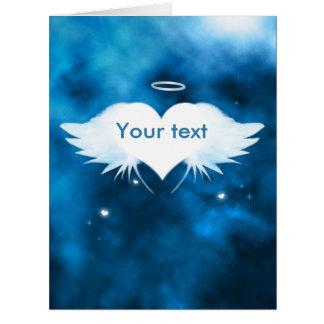 """Cartão de simpatia grande 8,5"""" x 11"""" - anjo do"""