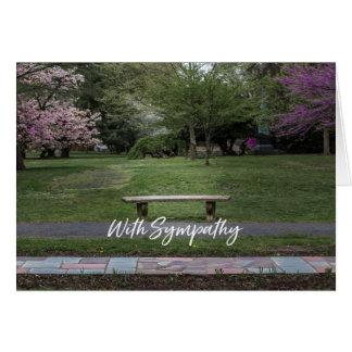 Cartão de simpatia para perdas de todos os tipos