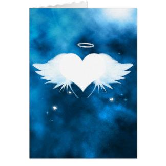 Cartão de simpatia personalizado - anjo do coração