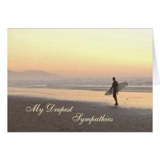 Cartão de simpatia: Surfista
