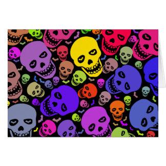 Cartão de Skulls'n'Bats