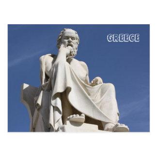 Cartão de Socrates da piscina