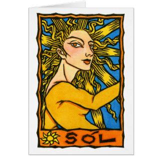 Cartão de Sól