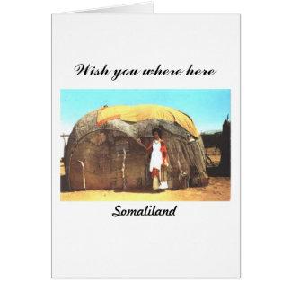 Cartão de Somaliland