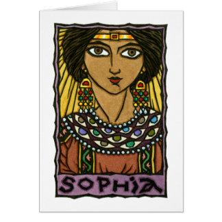 Cartão de Sophia