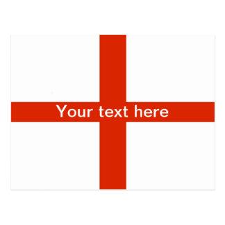Cartão de St George (personalize seu texto)