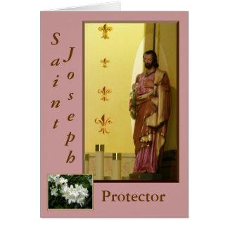 Cartão de St Joseph
