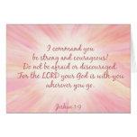 Cartão de Starburst da aguarela do 1:9 de Joshua