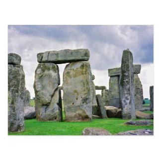 Cartão de Stonehenge