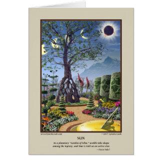 Cartão de Sun
