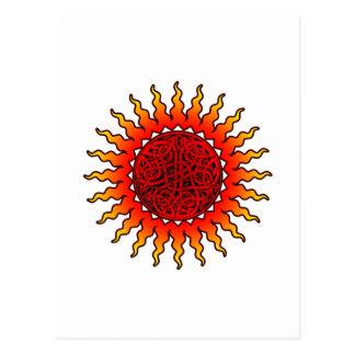 Cartão de Sun 1 do céltico
