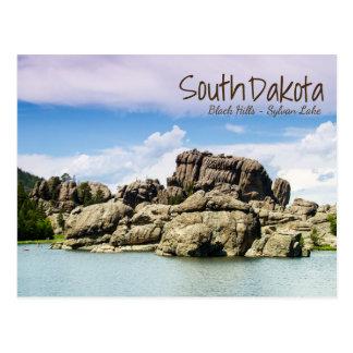 Cartão de Sylvan do lago south Dakota