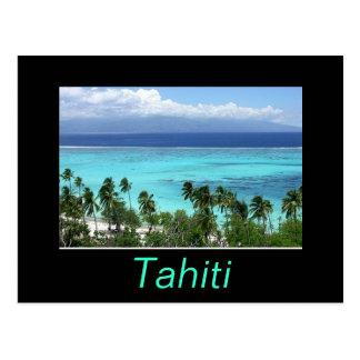 Cartão de Tahiti