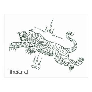Cartão de TAILÂNDIA