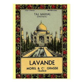 Cartão de Taj Mahal Lavande