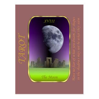 Cartão de Tarot - a lua