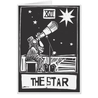 Cartão de Tarot da estrela