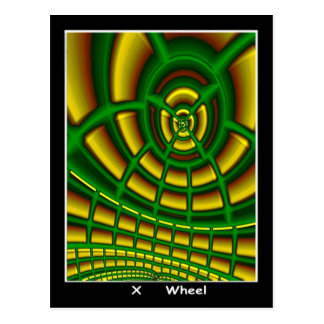 Cartão de Tarot da roda