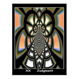 Cartão de Tarot do julgamento