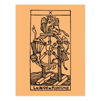 Cartão de Tarot: Fortuna Cartão Postal