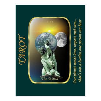 Cartão de Tarot - o mundo