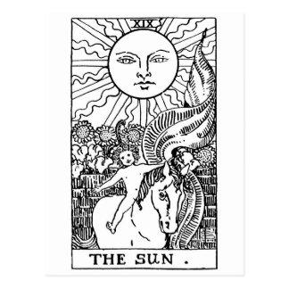 cartão de tarot 'Sun