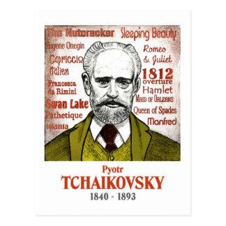 Cartão de Tchaikovsky