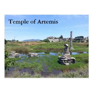Cartão de Templo de Ártemis