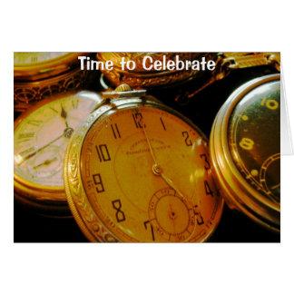 Cartão de tempo de observação