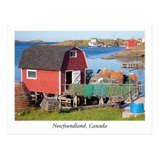 Cartão de Terra Nova, Canadá